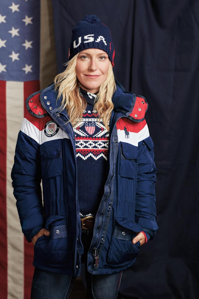 <p>Jamie Anderson will compete for Team USA in snowboarding and is one athlete to watch. (Photo: courtesy of Ralph Lauren) </p>