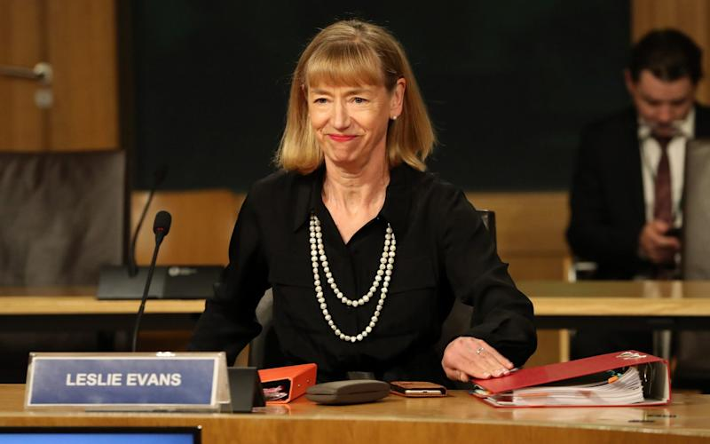 Leslie Evans, the Scottish Government's permanent secretary - Getty Images Europe/Pool