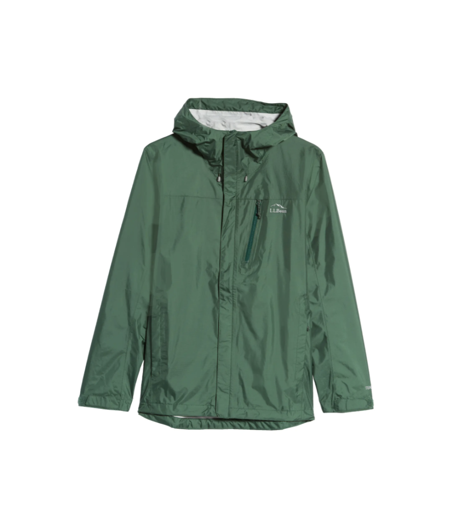 """<p><strong>L.L.Bean</strong></p><p>nordstrom.com</p><p><strong>$74.25</strong></p><p><a href=""""https://go.redirectingat.com?id=74968X1596630&url=https%3A%2F%2Fwww.nordstrom.com%2Fs%2Fl-l-bean-mens-trail-model-water-repellent-rain-jacket%2F6446543&sref=https%3A%2F%2Fwww.esquire.com%2Fstyle%2Fadvice%2Fg2995%2Fbest-fall-coats-jackets%2F"""" rel=""""nofollow noopener"""" target=""""_blank"""" data-ylk=""""slk:Shop Now"""" class=""""link rapid-noclick-resp"""">Shop Now</a></p><p>Sporty adventurers, rejoice! You've found the perfect topper for all the weekends you'll spend trekking. </p>"""