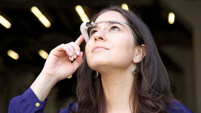 What Looking Through Google Glass Really Looks Like