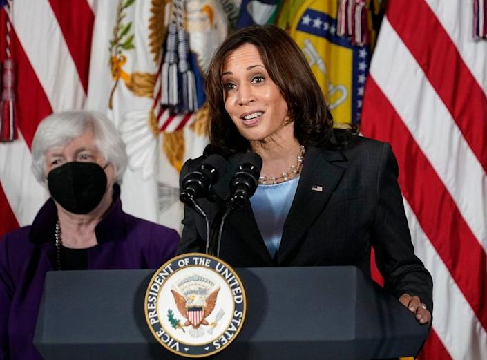 TV-The View-Harris (Copyright 2021 The Associated Press. All rights reserved.)