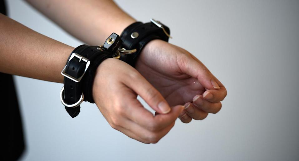 BDSM bondage cuffs. (Photo: Yahoo Lifestyle Singapore)