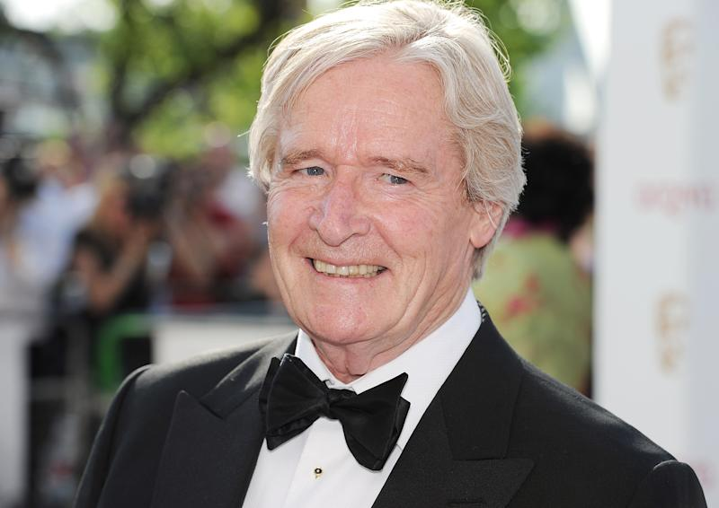 LONDON, ENGLAND - MAY 27: (EMBARGOED FOR PUBLICATION IN UK TABLOID NEWSPAPERS UNTIL 48 HOURS AFTER CREATE DATE AND TIME. MANDATORY CREDIT PHOTO BY DAVE M. BENETT/GETTY IMAGES REQUIRED) Bill Roache arrives at the Arqiva British Academy Television Awards 2012 at Royal Festival Hall on May 27, 2012 in London, England. (Photo by Dave M. Benett/Getty Images)