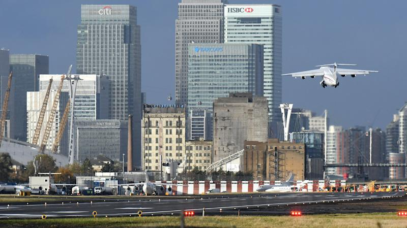 London City Airport delays expansion project as pandemic hits demand