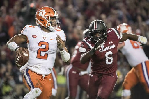 Clemson has a different quarterback in 2017, but the Tigers are back at No. 1. (AP Photo/Sean Rayford)