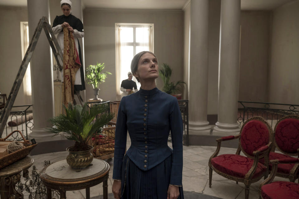 """This image released by Amazon Studios shows Mélanie Laurent in a scene from """"The Mad Women's Ball."""" (Amazon Studios via AP)"""