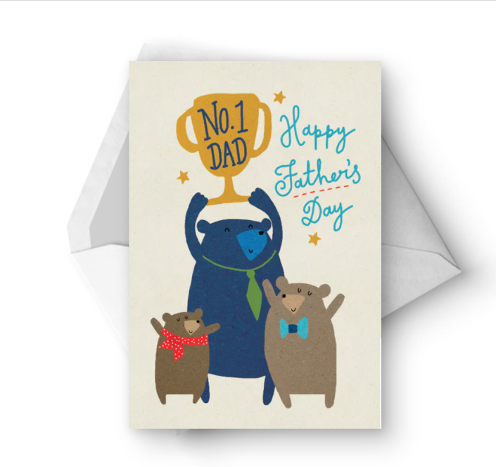 """<p>You may not be able to get your top-notch dad a trophy, but you can still get him this cute cartoon card. </p><p><strong><em>Get the printable at <a href=""""https://www.greetingsisland.com/preview/cards/top-contender/94-15852"""" rel=""""nofollow noopener"""" target=""""_blank"""" data-ylk=""""slk:Greetings Island"""" class=""""link rapid-noclick-resp"""">Greetings Island</a>. </em></strong><strong><em><br></em></strong></p>"""