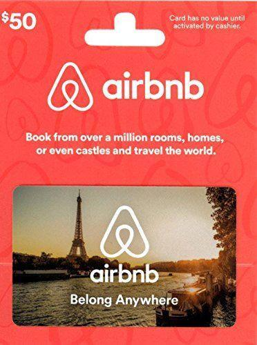 "<p><strong>The Gift: Airbnb Card</strong><br>Surprise your hunnie with the ultimate date escape: a blank choose-their-own adventure card from Airbnb. (And hope they bring you with them.)</p> <br> <br> <strong>Airbnb</strong> Airbnb Gift Card, $50, available at <a href=""https://www.amazon.com/Airbnb-50-Gift-Card/dp/B01ESBMY3W/ref=sr_1_2"" rel=""nofollow noopener"" target=""_blank"" data-ylk=""slk:Amazon"" class=""link rapid-noclick-resp"">Amazon</a>"