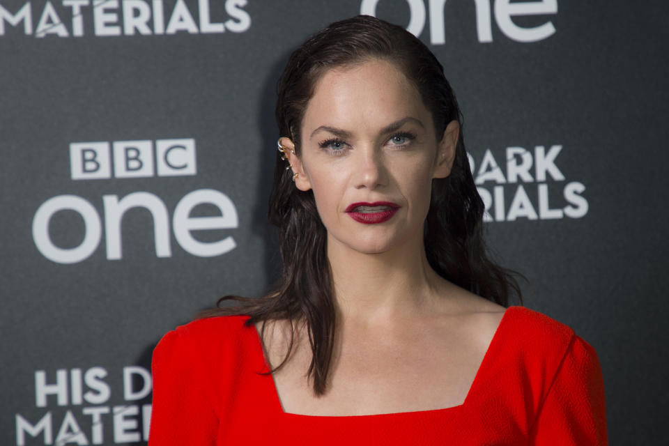Actress Ruth Wilson poses for photographers upon arrival at the premiere of 'His Dark Materials' at the BFI southbank in central London, Tuesday, Oct. 15, 2019. (Photo by Joel C Ryan/Invision/AP)