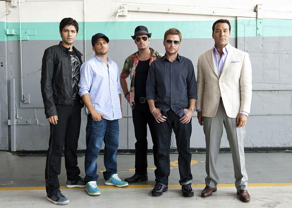 "The cast of ""Entourage."""