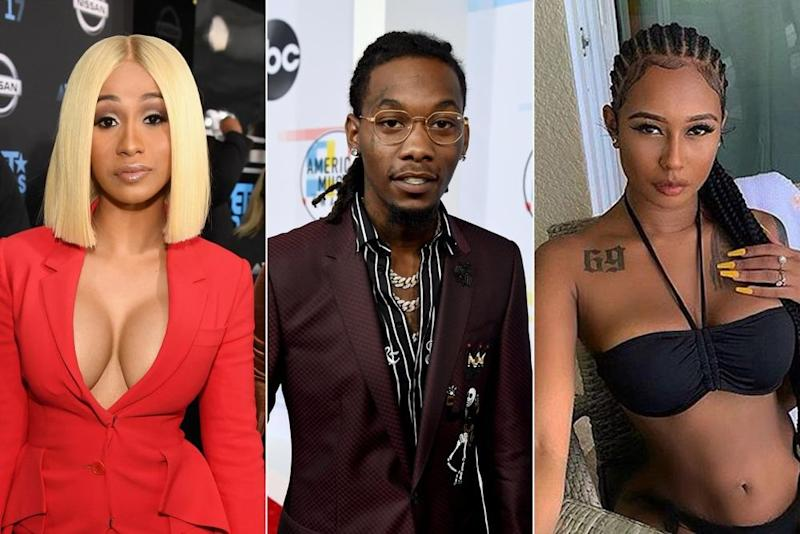 From left: Cardi B, Offset, Jade | Getty Images (2), Jade/Instagram