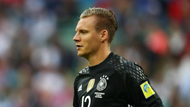 Two errors from Leverkusen goalkeeper Bernd Leno made Germany's Confederations Cup win over Australia less routine than it might have been.