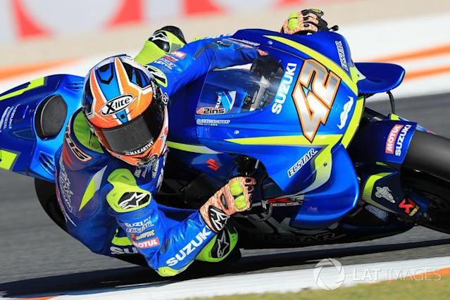 """2017 : Álex Rins <span class=""""copyright"""">Gold and Goose / Motorsport Images</span>"""