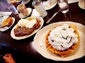 """<p><a href=""""https://www.yelp.com/biz/town-line-diner-rocky-hill"""" rel=""""nofollow noopener"""" target=""""_blank"""" data-ylk=""""slk:Town Line Diner"""" class=""""link rapid-noclick-resp"""">Town Line Diner</a> in Rocky Hill</p><p>This Connecticut staple serves everything from burgers to steaks to breakfast foods to accommodate late-night workers and the buzzed bar crowd. Roll in with your crew and dig in.</p>"""