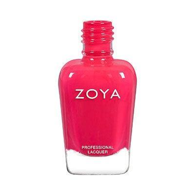 "<h3>Zoya Sonja</h3> <br><a href=""https://www.refinery29.com/en-us/coral-nail-polish"" rel=""nofollow noopener"" target=""_blank"" data-ylk=""slk:Coral-infused pink"" class=""link rapid-noclick-resp"">Coral-infused pink</a> is a classic pedi polish. Fans love that this $10 Zoya shade reads bright, like a blazing, sunset red.<br><br><strong>Zoya</strong> Sonja, $, available at <a href=""https://go.skimresources.com/?id=30283X879131&url=https%3A%2F%2Fwww.zoya.com%2Fcontent%2Fitem%2FZoya-Nail-Polish-ZP892-Sonja.html"" rel=""nofollow noopener"" target=""_blank"" data-ylk=""slk:Zoya"" class=""link rapid-noclick-resp"">Zoya</a><br>"