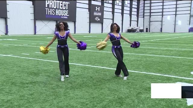 The Baltimore Ravens will hold cheerleader tryouts in March, and there's a chance to learn some of the dance moves in advance. It's a special cheerleader clinic that will show you everything you need to know when it comes to joining the squad.