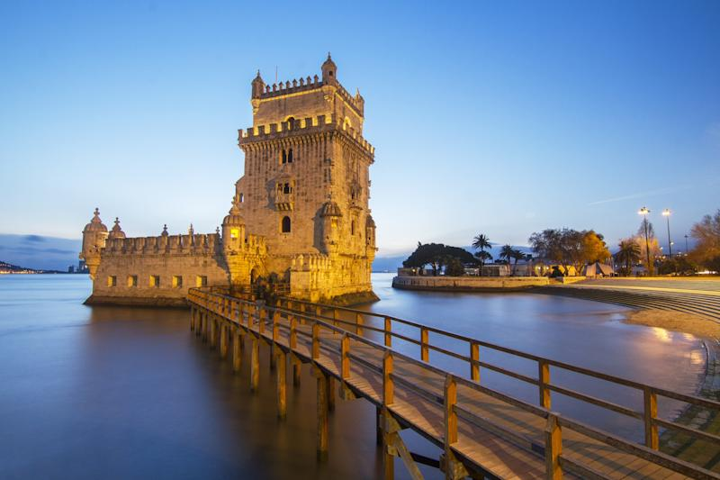 Lisbon's Torre de Belém - Mauro Rodrigues (c) 2014 - do not use without permission -
