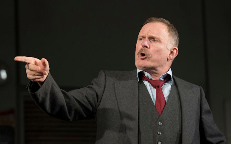 Robert Glenister was taken ill during a West End performance on Friday evening - amx