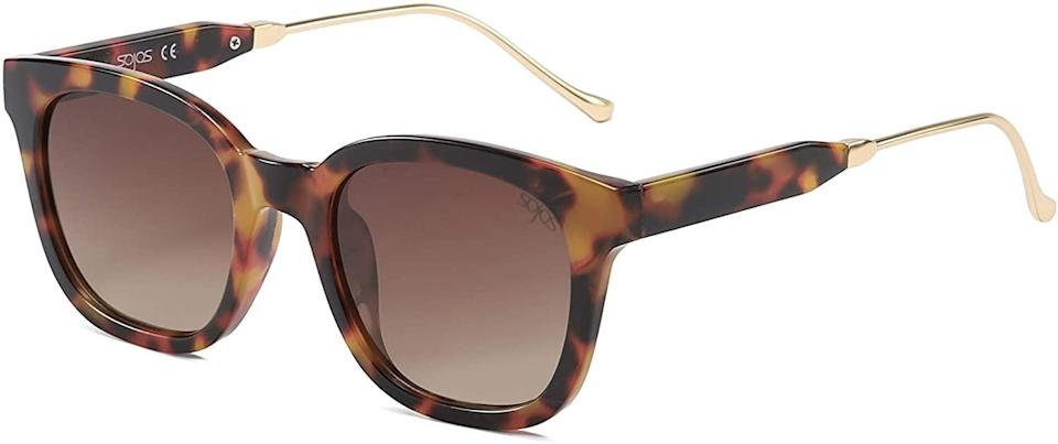 <p>If you need a standard pair of timeless and classic sunglasses, you can't go wrong with the <span>SOJOS Classic Square Polarized Sunglasses </span> ($15).</p>