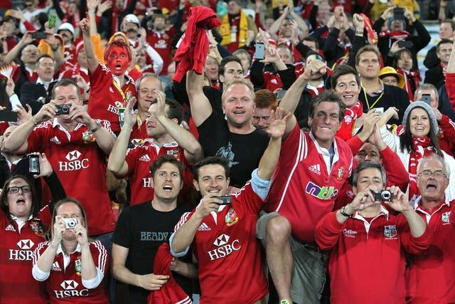 It is set to be the only 2021 Lions game attended by fans