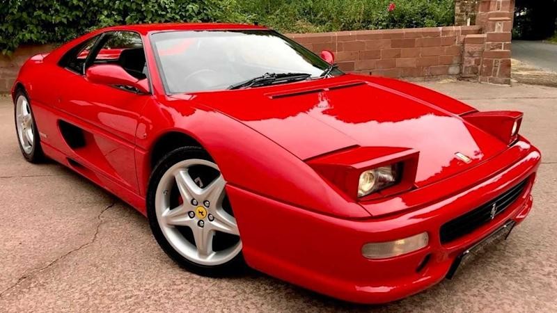 Want To Buy A Ferrari F355 Owned By A British F1 Driver