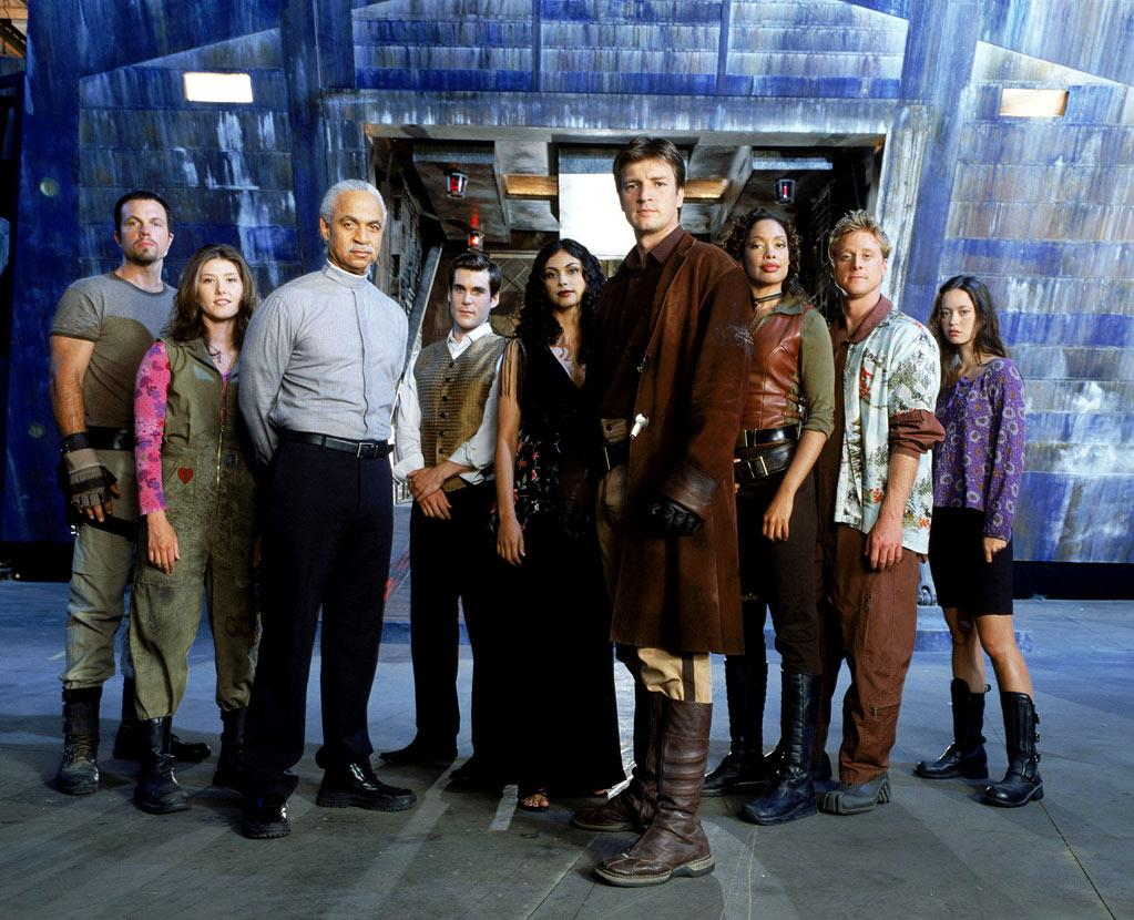 """""""<a href=""""/firefly/show/28255"""">Firefly</a>"""" premiered on Fox in 2002. Despite high expectations for the Joss Whedon-led project, by mid-December the show had averaged only 4.7 million viewers per episode. It was canceled after 11 of the 14 produced episodes were aired."""