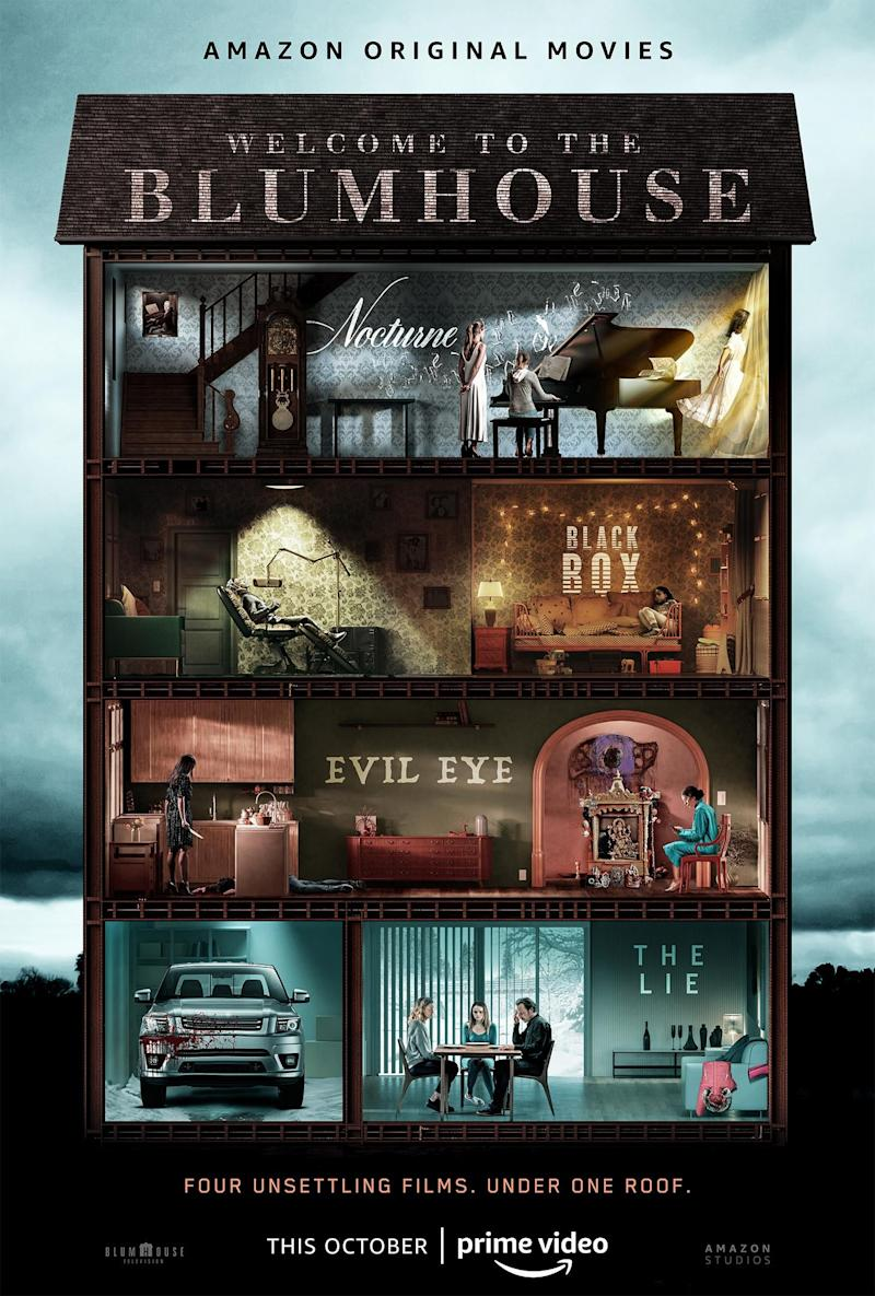 'Welcome to the Blumhouse'. (Credit: Amazon)