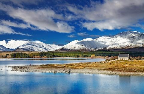 Church of the Good Shepherd, Lake Tekapo - Credit: © DPK-PHOTO / ALAMY STOCK PHOTO