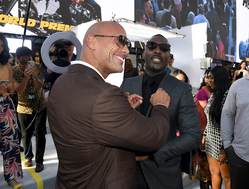 Hobbs And Shaw Cut Out A Joke About Idris Elba's James Bond