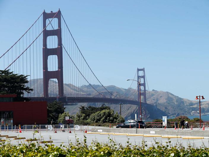Shipping data appeared to show nine ships near San Francisco, but were in reality miles away: EPA