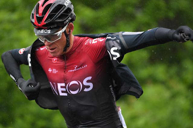 Christopher Froome of Great Britain and Team INEOS, just days before the crash. (Photo by Tim de Waele/Getty Images)