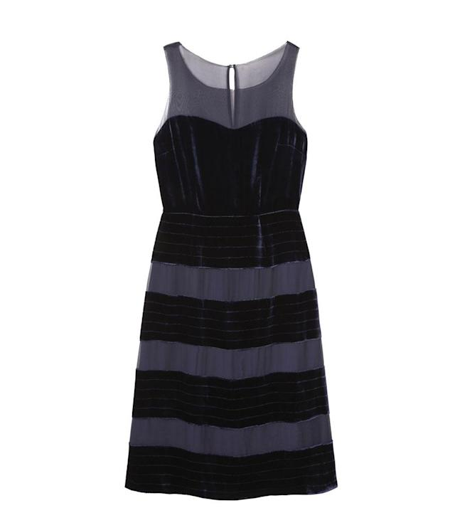 "<p>Natasha Dress, $243, <a href=""http://www.bodenusa.com/en-us/womens-dresses/party-dresses/w0060-nav/womens-navy-natasha-dress"" rel=""nofollow noopener"" target=""_blank"" data-ylk=""slk:bodenusa.com"" class=""link rapid-noclick-resp"">bodenusa.com</a> </p>"