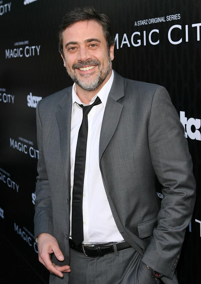 """Jeffrey Dean Morgan attends the Starz '<a target=""""_blank"""" href=""""http://tv.yahoo.com/magic-city/show/46996"""">Magic City</a>' Los Angeles Series Premiere at Directors Guild Of America on March 20, 2012 in Los Angeles, California."""