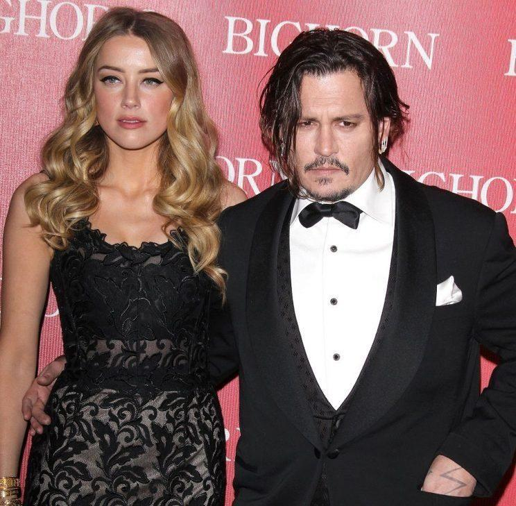 Amber accused Depp of physically abusing her. - Credit: Rex