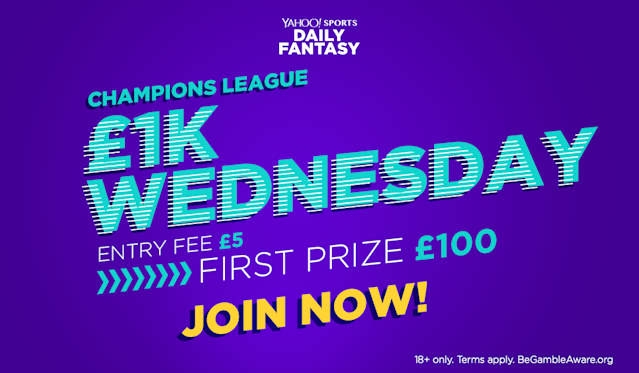"""Win <strong>£100 cash</strong> playing fantasy football <a href=""""http://bit.ly/2FHEKZo"""" rel=""""nofollow noopener"""" target=""""_blank"""" data-ylk=""""slk:here"""" class=""""link rapid-noclick-resp"""">here</a>!"""