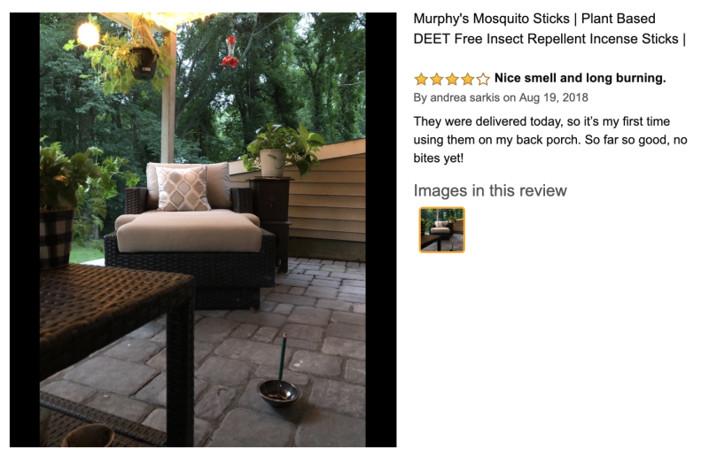 One Amazon shopper's review (Photo: Amazon)