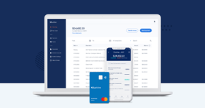 The dashboard of BlueVine business banking