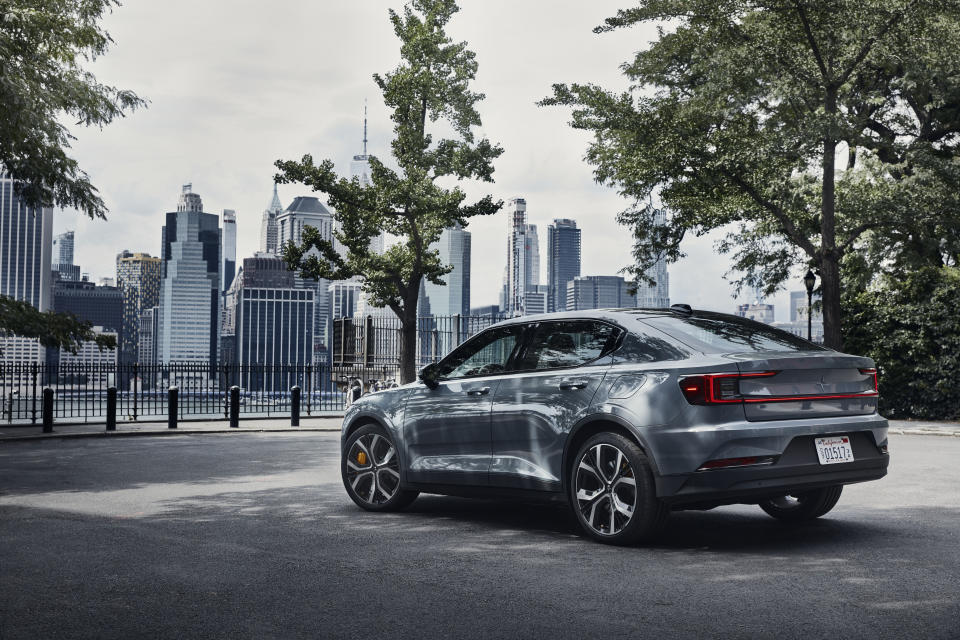 Polestar 2 US Launch August 2020 Copyright Free