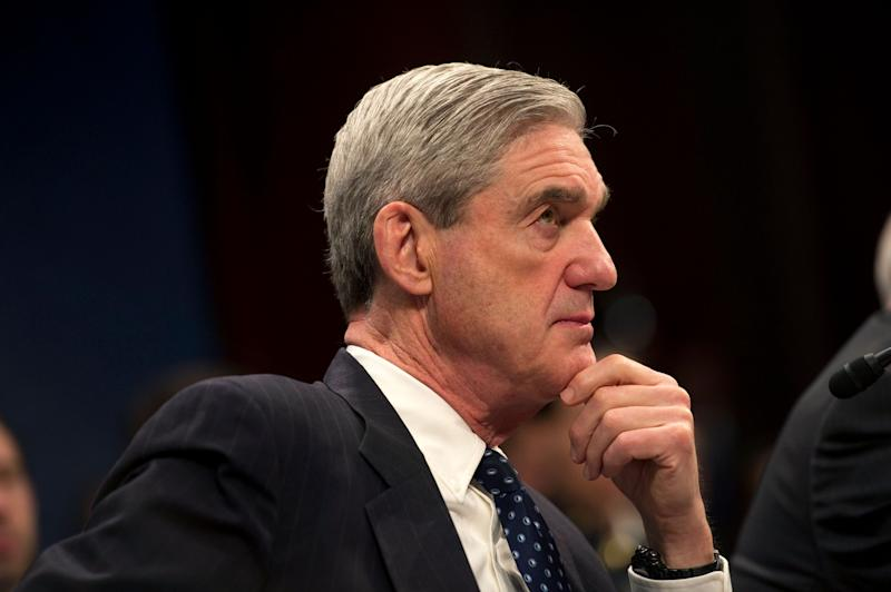 """Trump warned that Mueller would be crossing a line if the Russia investigation expanded into Trump's finances. Trump also said the special counselhad many conflicts of interest thatTrump hadn't talked about yet, butwould """"at some point."""""""