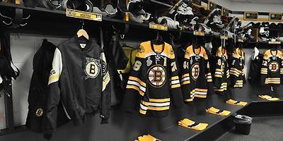 Nathan Horton's jacket provided visual inspiration for the Bruins in Game 4
