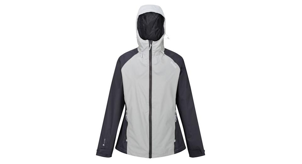 Women's Atten Waterproof Shell Jacket Light Steel