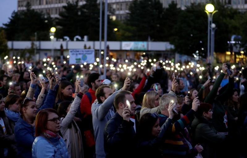 Four charged in Slovak journalist murder that brought down prime minister