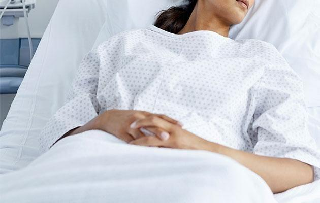 The new mum was recovering after giving birth when the incident happened last month. Photo: Getty