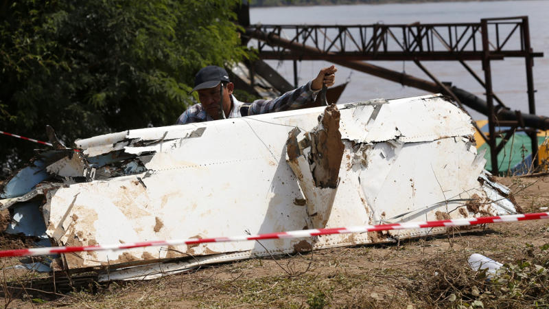 The probable cause of a plane crash in Southern Laos in which 49 people died, was pilot error.