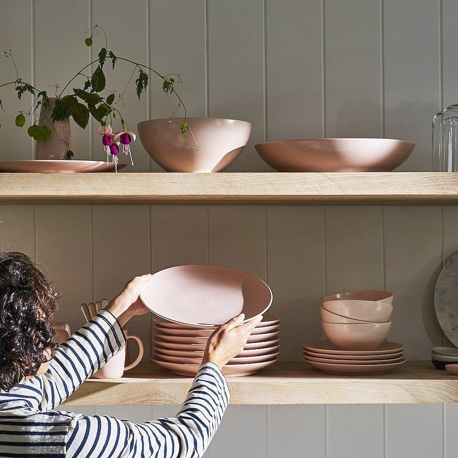 """<h3>Year & Day</h3><br><strong>Best For: </strong>Gifts, set building <br><strong>Features:</strong> Artisan-made <br><strong>Product Range:</strong> Serving pieces, flatware <br><br>This minimalist-chic brand's beautiful pieces are thoughtfully designed in California, sustainably hand-crafted in Europe, and sold at a competitive value for quality through mindful DTC business practices. Year & Day's selection of soft ceramic dinnerware to sleek flatware and laser-cut glassware offers only the most essential pieces that you'll actually use on your table tonight (meaning, you won't find any gravy boats here). <br><br><strong>Price Breakdown: $52 (at $13 per piece)</strong><br><br><em>Shop <strong><a href=""""https://yearandday.com/"""" rel=""""nofollow noopener"""" target=""""_blank"""" data-ylk=""""slk:Year & Day"""" class=""""link rapid-noclick-resp"""">Year & Day</a></strong></em><br><br><strong>Year And Day</strong> Big Bowls, Set of 4, $, available at <a href=""""https://go.skimresources.com/?id=30283X879131&url=https%3A%2F%2Fyearandday.com%2Fproducts%2Fbig-bowl"""" rel=""""nofollow noopener"""" target=""""_blank"""" data-ylk=""""slk:Year And Day"""" class=""""link rapid-noclick-resp"""">Year And Day</a>"""
