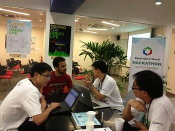 Baidu Open Cloud Hackathon Singapore 2