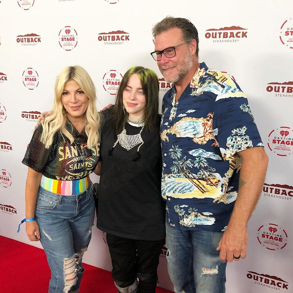"""The actress, her husband Dean McDermott and her kids had such a great experience meeting the singer at the 2019 iHeartRadio Music Festival that she felt compelled to post about it on her Instagram.  """"Thx #billieeilish for being so amazing and taking personal time with each and every one of my kiddos,"""" Spelling <a href=""""https://www.instagram.com/p/B24cYV0hikF/"""">wrote</a>. """"You are amazingly talented, empowering, and grounded. You set a great example for girls everywhere! #girlpower"""""""