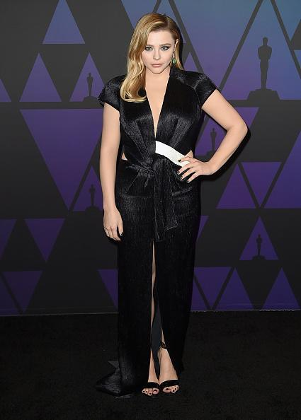 <p>Chloe wore a Louis Vuitton outfit at the Academy of Motion Picture Arts and Sciences' 10th annual Governors Awards in Hollywood, California.<em> [Photo: Getty]</em> </p>