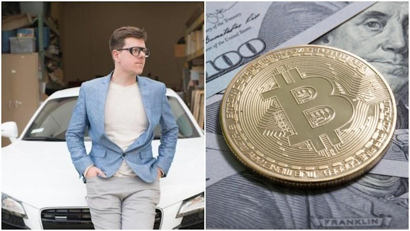 Bitcoin entrepreneur Erik Finman, who became a millionaire by age 18, wants to bring crypto to the masses with a new Coinbase rival called CoinBits.   Source: Erik Finman/Twitter (i), Shutterstock (ii). Image Edited by CCN.