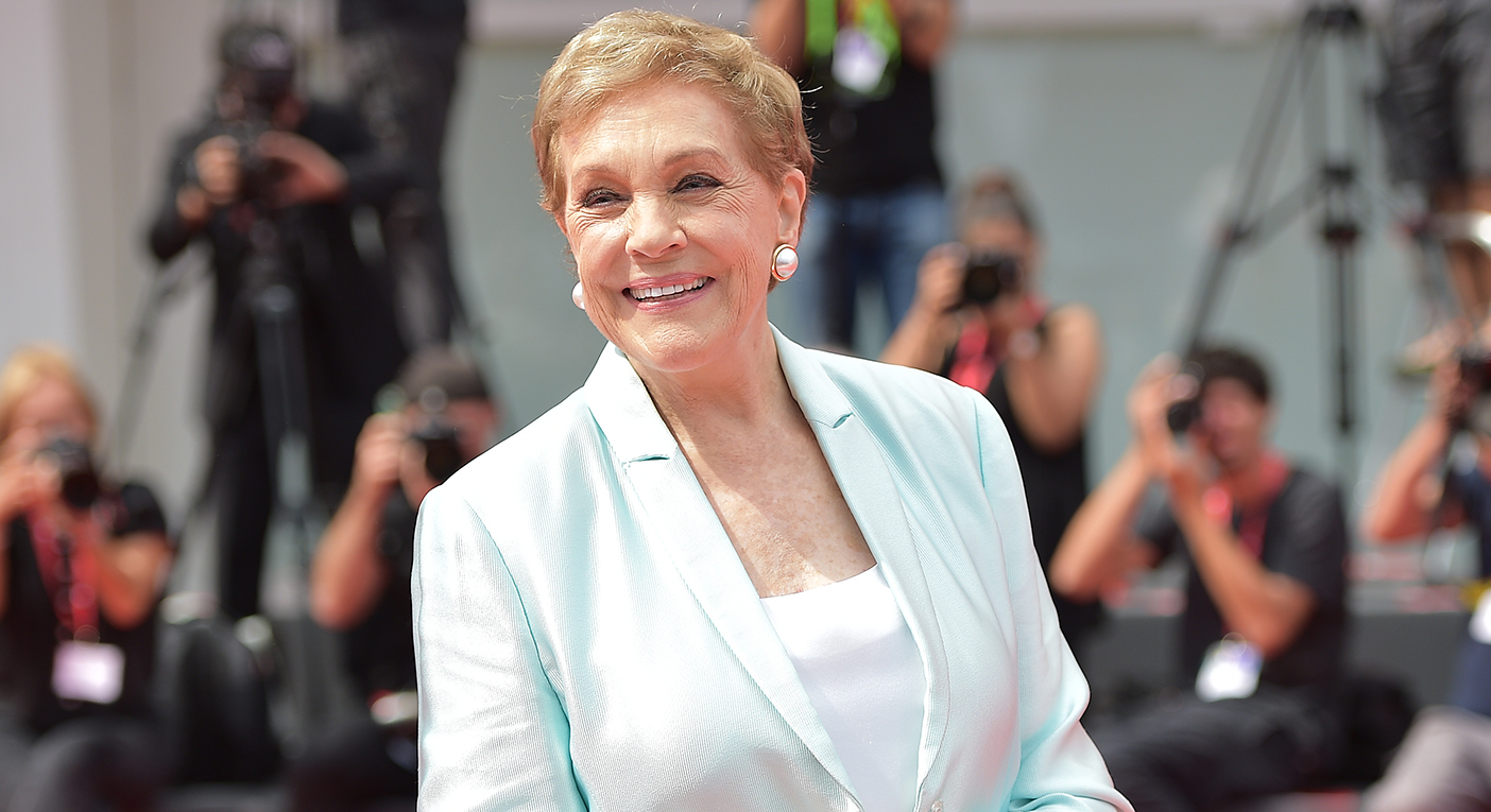 Julie Andrews arrives at the Golden Lion For Career Achievement at the 76th Venice Film Festival [Photo: Getty Images]